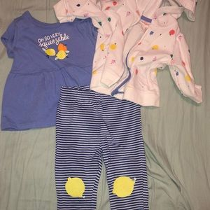 3 Piece Matching Set with Hoodie